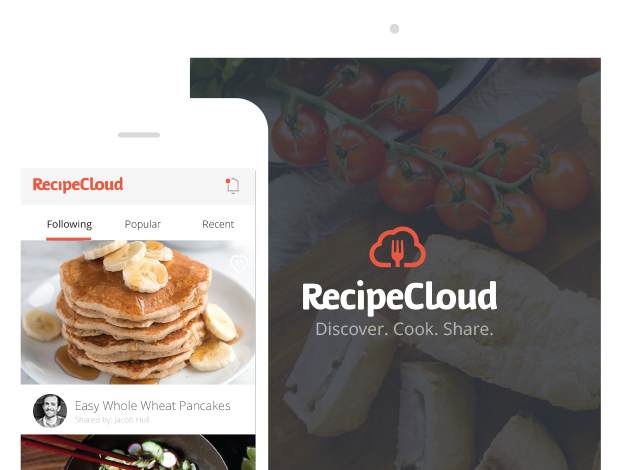 Get RecipeCloud App for iPhone or iPad