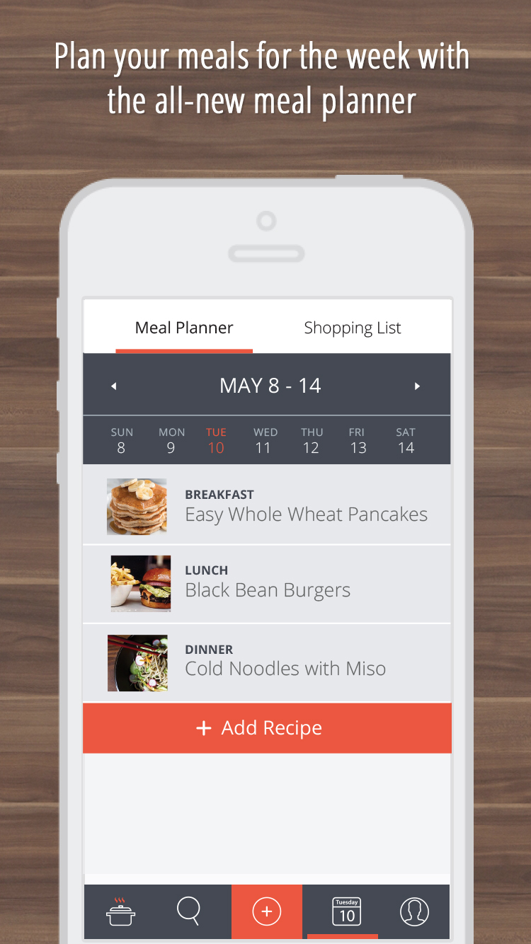 Recipe Cloud App Press Content