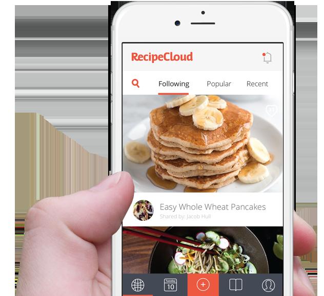 Recipe Cloud App - Free Recipe Manager App For iOS iPhone
